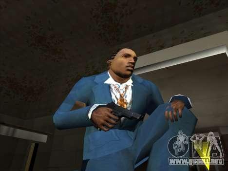 Un conjunto de armas rusas para GTA San Andreas tercera pantalla