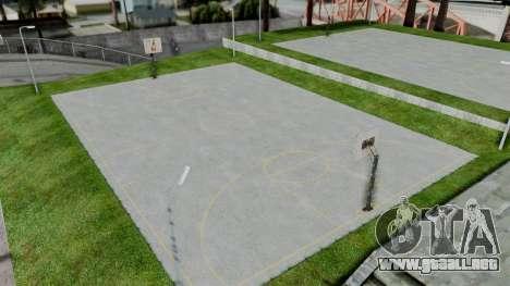New Basketball Court para GTA San Andreas tercera pantalla