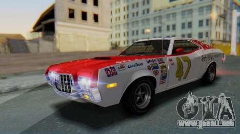 Ford Gran Torino Sport SportsRoof (63R) 1972 IVF para las ruedas de GTA San Andreas
