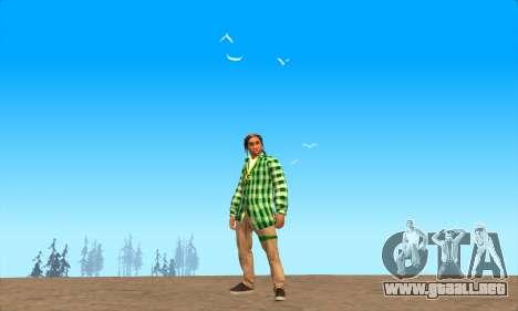 La piel Pak Grove de Nunca para GTA San Andreas tercera pantalla