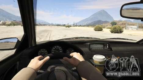 GTA 5 GTA 4 Schafter vista trasera