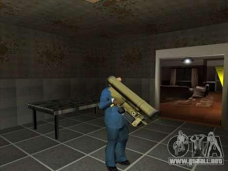 Un conjunto de armas rusas para GTA San Andreas