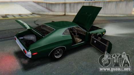 Ford Gran Torino Sport SportsRoof (63R) 1972 IVF para la vista superior GTA San Andreas