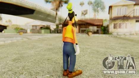 Kingdom Hearts 2 Goofy para GTA San Andreas tercera pantalla