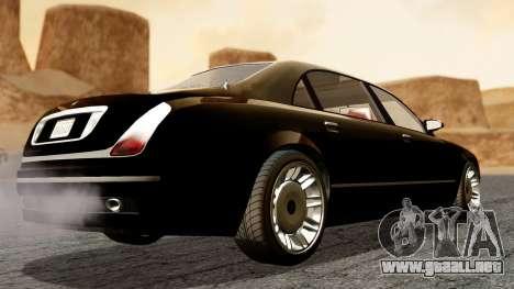 GTA 5 Enus Cognoscenti L para GTA San Andreas left