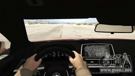 GTA 5 2013 BMW M6 Coupe vista trasera