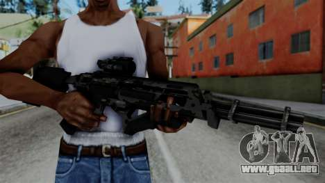 CoD Black Ops 2 - Storm PSR para GTA San Andreas tercera pantalla