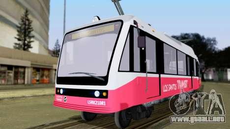 GTA 5 Metrotrain para GTA San Andreas