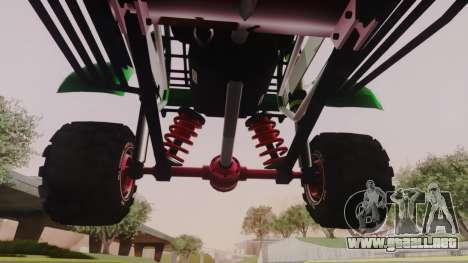 Mudmonster para visión interna GTA San Andreas