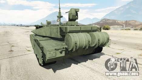 GTA 5 T-90MS vista trasera