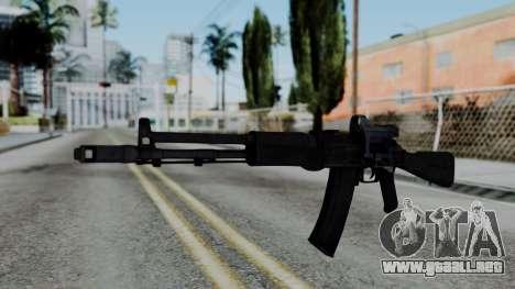 Arma OA AK74-100 para GTA San Andreas