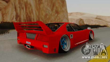 Turismo Saber X para GTA San Andreas left