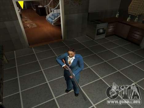 Un conjunto de armas rusas para GTA San Andreas undécima de pantalla