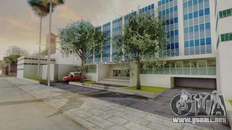 Hospital LS para GTA San Andreas segunda pantalla