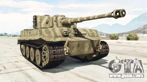 Panzerkampfwagen VI Ausf. E Tiger para GTA 5