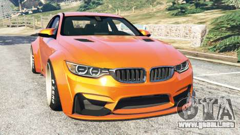 BMW M4 (F82) [LibertyWalk] v1.1 para GTA 5