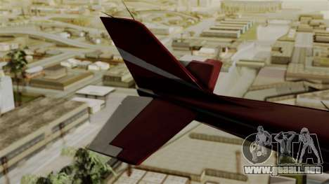 GTA 5 Jobuilt Mammatus para GTA San Andreas vista posterior izquierda