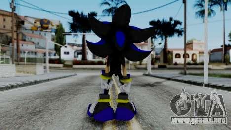 The Hedgehog para GTA San Andreas tercera pantalla