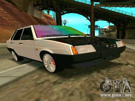 VAZ 21099 Gvr para GTA San Andreas