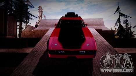 1971 Ford Mustang Rusty Rebel para visión interna GTA San Andreas