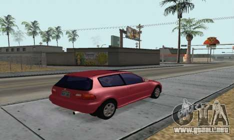 Honda Civic EG6 Tunable para GTA San Andreas left