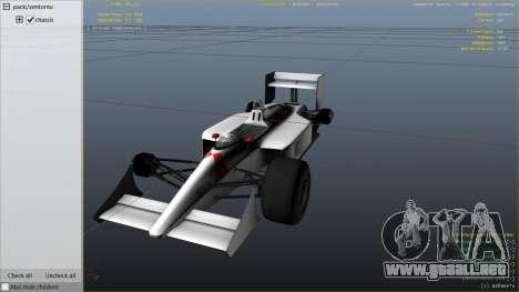 GTA 5 McLaren MP 44 vista lateral derecha