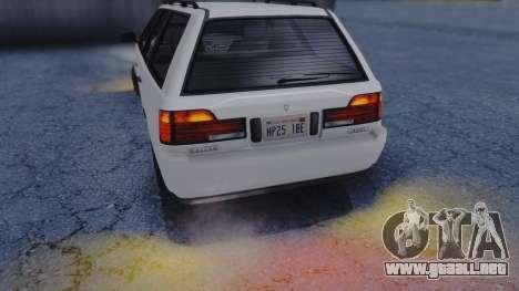 GTA 5 Vulcar Ingot IVF para vista lateral GTA San Andreas