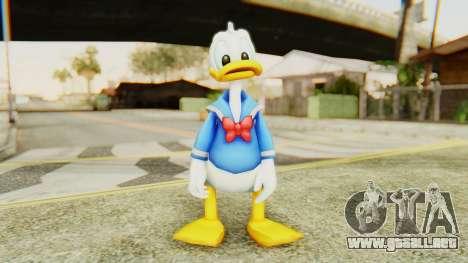 Kingdom Hearts 2 Donald Duck v2 para GTA San Andreas segunda pantalla