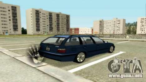 BMW 318i Wagon Touring Wagon para la visión correcta GTA San Andreas