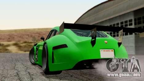 GTA 5 Bravado Verlierer Tuned para GTA San Andreas left