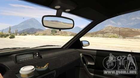 GTA 5 GTA 4 Schafter vista lateral trasera derecha