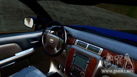 Chevrolet Cheyenne 2012 Dually para la visión correcta GTA San Andreas
