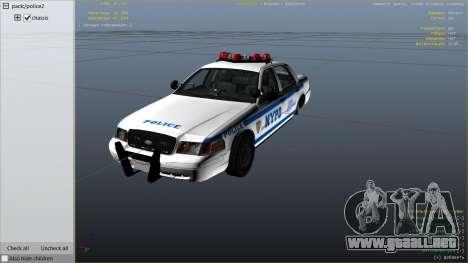 NYPD Ford CVPI HD para GTA 5