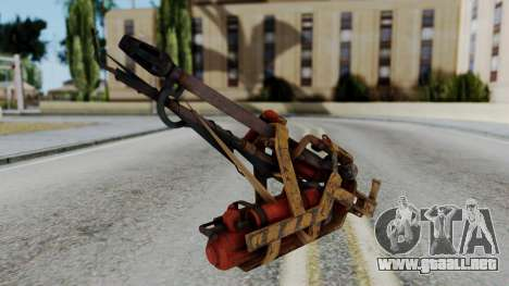 Fallout 4 - Flamethrower para GTA San Andreas