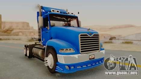 Mack Vision Trailer v3 para GTA San Andreas