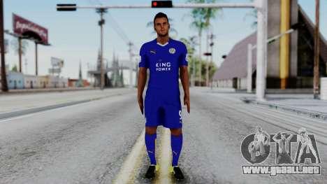 Jamie Vardy - Leicester City 2015-16 para GTA San Andreas segunda pantalla