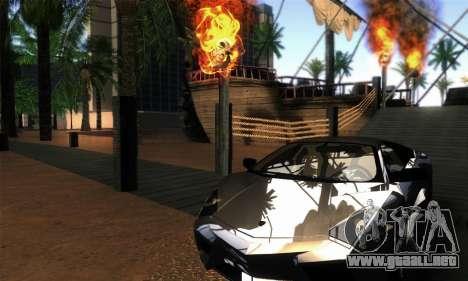 EnbUltraRealism v1.3.3 para GTA San Andreas segunda pantalla