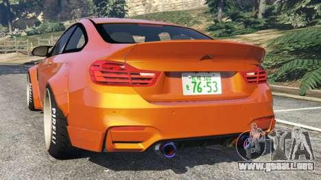 BMW M4 (F82) [LibertyWalk] v1.1 para GTA 5