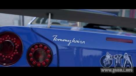 GTA 5 Nissan Skyline R34 Tommy Kaira vista trasera