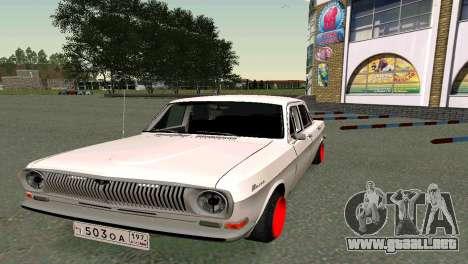 GAS 24 para la visión correcta GTA San Andreas