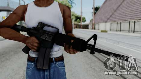 M16 A2 Carbine M727 v1 para GTA San Andreas tercera pantalla
