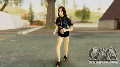 Esa para GTA San Andreas segunda pantalla