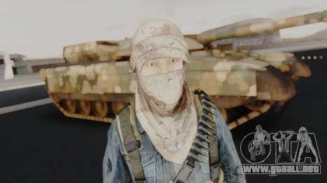Somalia Militia Desert Camo para GTA San Andreas