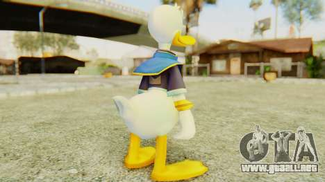 Kingdom Hearts 2 Donald Duck Default v2 para GTA San Andreas tercera pantalla