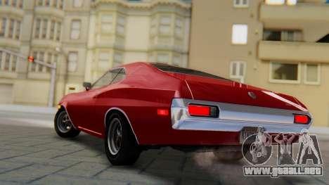 Ford Gran Torino Sport SportsRoof (63R) 1972 PJ1 para GTA San Andreas left