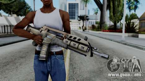 CoD Black Ops 2 - M8A1 para GTA San Andreas tercera pantalla