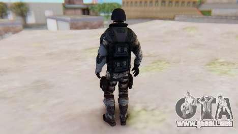 The Amazing Spider-Man 2 Game - Soldier para GTA San Andreas tercera pantalla