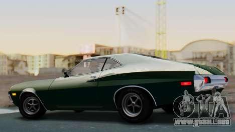Ford Gran Torino Sport SportsRoof (63R) 1972 IVF para GTA San Andreas left