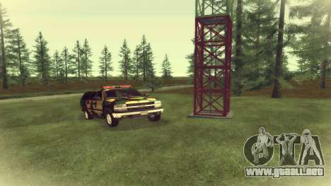 Chevrolet Suburban De Camuflaje para GTA San Andreas