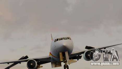 Boeing 767-300ER Hainan Airlines para la visión correcta GTA San Andreas